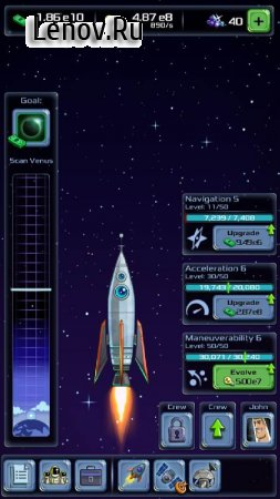 Idle Tycoon: Space Company v 1.4.2 (Mod Money)