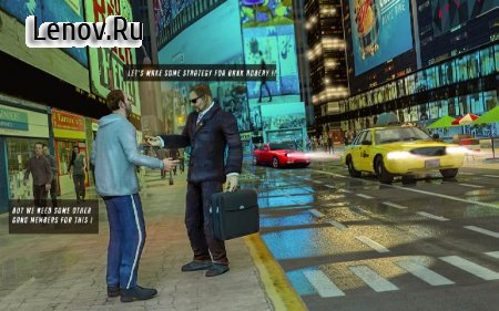 NYC City Crime Cops Gang Wars v 1.1 Мод (Infinite Money/Bullets)
