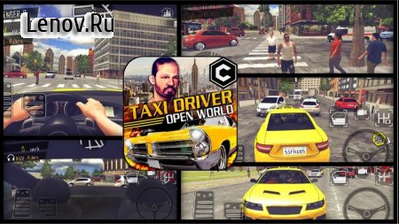 Crazy Open World Driver - Taxi Simulator New Game v 3.1 (Mod Money)
