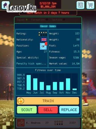 Football Boss: Soccer Manager v 1.1.2 (Mod Money)