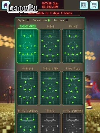 Football Boss: Soccer Manager v 1.3 (Mod Money)