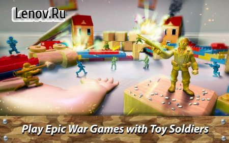 🔫 Toy Commander: Army Men Battles v 1.25.3 Мод (Unlimited gold coins)