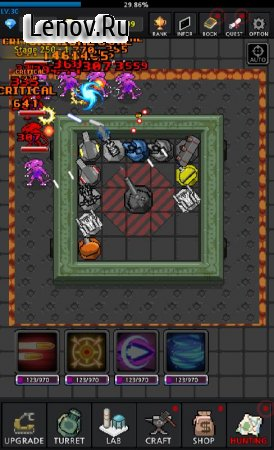 Grow Turret - Idle Clicker Defense v 7.3.1 (Mod Money)