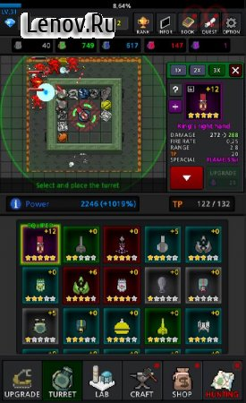 Grow Turret - Idle Clicker Defense v 6.9 (Mod Money)