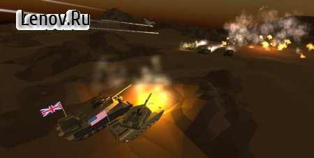 Poly Tanks: Massive Assault v 1.2.0.4 Мод (Free Shopping)