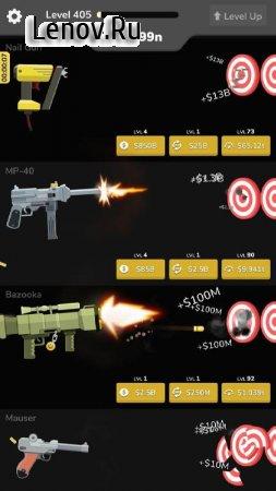 Gun Idle v 1.3 Мод (Gold coins)