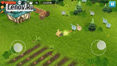 Rabbit Shooter v 2.1 Мод (Unlimited Gold Coins)