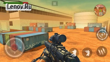 FPS Counter Attack - Critical Strike v 1.3 Мод (Unlock all guns/levels)