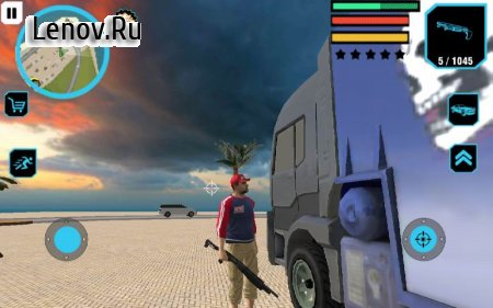Truck Driver City Crush v 2.0 (GOD MODE/ADD MONEY/WEAPON/EXPERIENCE)