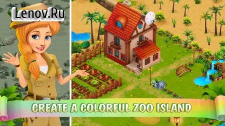 Zoo Island v 1.1.2 Мод (Hearts/gold coins/stars)