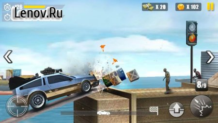 Invincible Dead Driving v 1.0.2 Мод (Unlimited gold coins)