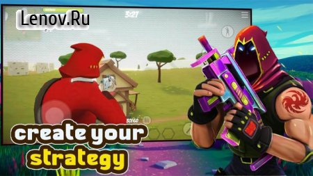 FortStrike Battle Royale 3D online Multiplayer v 1.3 Мод (Unlimited gold coins)