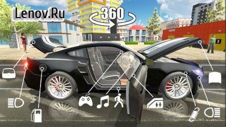 Car Simulator 2 v 1.25 Мод (Unlimited Gold Coins)