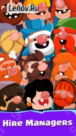 Idle Dwarfs Tycoon v 1.1.1 (Mod Money)
