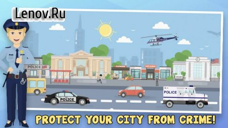 Police Inc: Idle police station tycoon game v 1.0.20 Мод (Unlimited Gold Coins/Diamonds)
