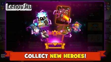 Battle Rush: Clash of Heroes in the Battle Royale v 1.0.18 Мод (Infinite coins/gems)