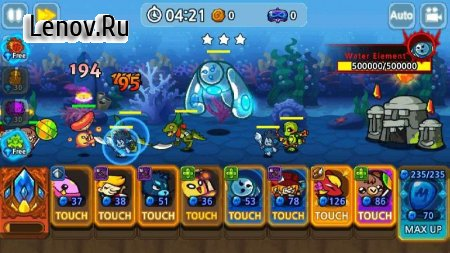 Monster Defense King v 1.2.3 Мод (Unlimited Diamonds)