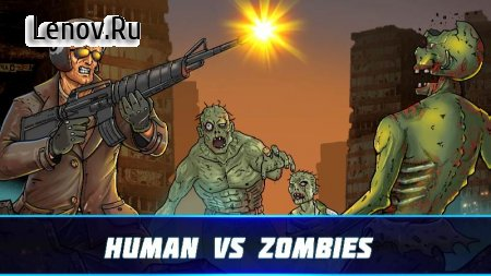 Human vs Zombies: a zombie defense game v 1.0 Мод (Infinite Diamond/Unlock Acceleration)