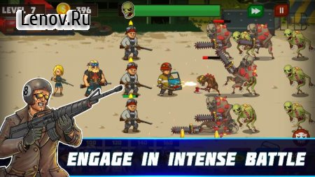 Human vs Zombies: a zombie defense game v 1.0 Мод (Infinite Diamond/Unlock Acceleration)