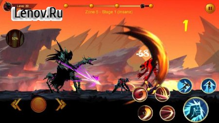 Shadow fighter 2: Shadow & ninja fighting games v 1.8.1 Мод (HIGH BONUS RATE/SPIN REWARD)