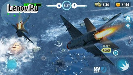 Air Fighter War - New recommended Thunder Shooting v 1.1.2 Мод (Free Shopping)