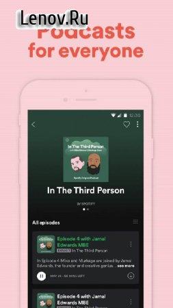 Spotify - Music and Podcasts v 8.4.95.785 Mod (Unlocked)