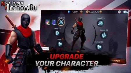 Ninja Raiden Revenge v 1.6.5 Мод (Gold coins/Masonry)