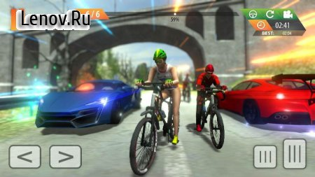 Fearless BMX Rider: Extreme Racing 2019 v 1.1 Мод (Free Shopping/Unlocked)