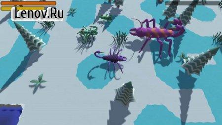 Evolution Simulator 3D v 1.06 Мод (Unlimited DNA)