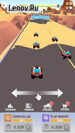 Flippy Drive v 1.0.9.1003 (Mod Money)