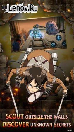 Attack on Titan: Assault v 1.1.6 Мод (AUTO WIN 3 STAR)