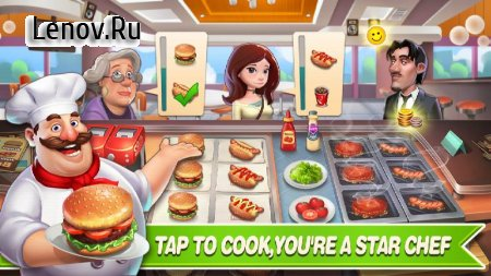 Happy Cooking: Chef Fever v 1.08 Мод (Free Shopping)