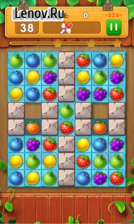 Fruit Burst v 4.5 Мод (99 moves per level)