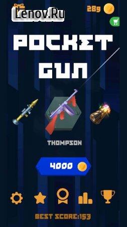 Flip Pocket Gun v 1.1 Мод (Unlimited Gold Coins)