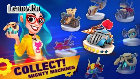 Mighty Machines - Vehicular Combat RPG v 0.4.1 Мод (UNLIMITED MONEY/FREE CRAFT)