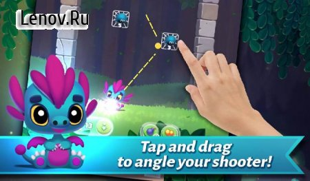Dragonoid - Tiny Dragon Land Pop Bubble Shooter v 1.3 Мод (Unlimited Diamonds)