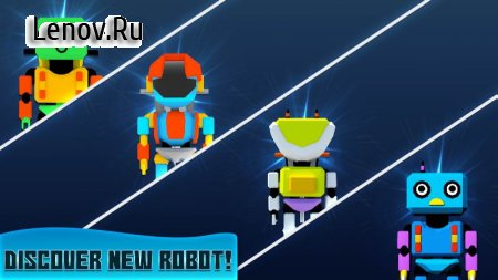 Robot Merger - Gold Mining Idle Clicker v 1.0 Мод (Unlimited Gold Coins/Diamonds)