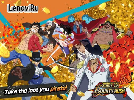 ONE PIECE Bounty Rush v 24200 Мод (No Skill Cooldown/Frozen Ai)