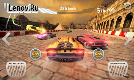 Sports Car Racing v 1.4 Мод (Unlimited coins/gold)