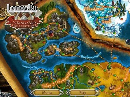 Viking Saga 3: Epic Adventure v 1.2 Мод (Unlocked)