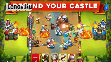 King Rivals: War Clash - PvP-стратегия v 1.3.4 (Mod Money)