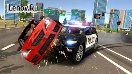 Police Car Chase - Cop Simulator v 1.0.3 Мод (Free Shopping)