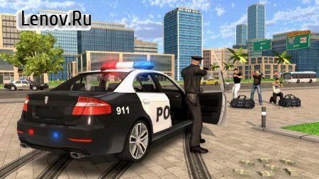 Police Car Chase - Cop Simulator v 1.0.3 Мод (Free Shopping)
