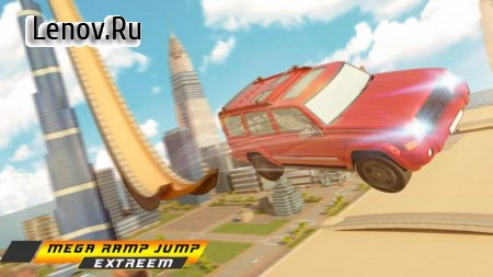 Dubai Car Crime City Grand Race Ramp v 1.0 Мод (Free Shopping)