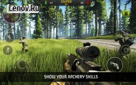 Sniper 3D Shooter - FPS Games: Cover Operation v 1.0 (Mod Money/Improve rewards)