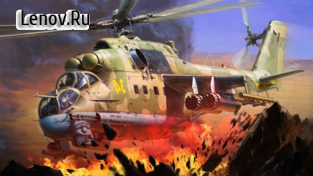 Gunship Shooting Strike Battle v 1.1.1 Мод (Unlimited Gold Coin/Diamond)