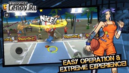 3on3 Freestyle Basketball v 2.11.0.3 (MENU MOD/ALWAYS GOAL)