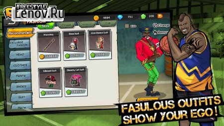 3on3 Freestyle Basketball v 2.10.0.0 (MENU MOD/ALWAYS GOAL)
