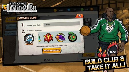 3on3 Freestyle Basketball v 2.10.0.0 (MENU MOD/ALWAYS GOAL)