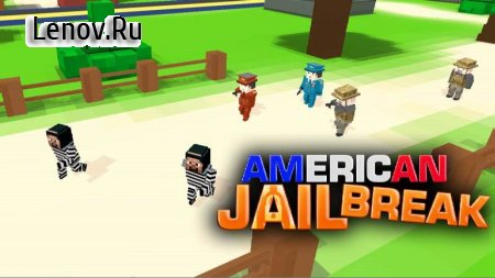 American Jail Break - Block Strike Survival Games v 5.5 Мод (Free Shopping)